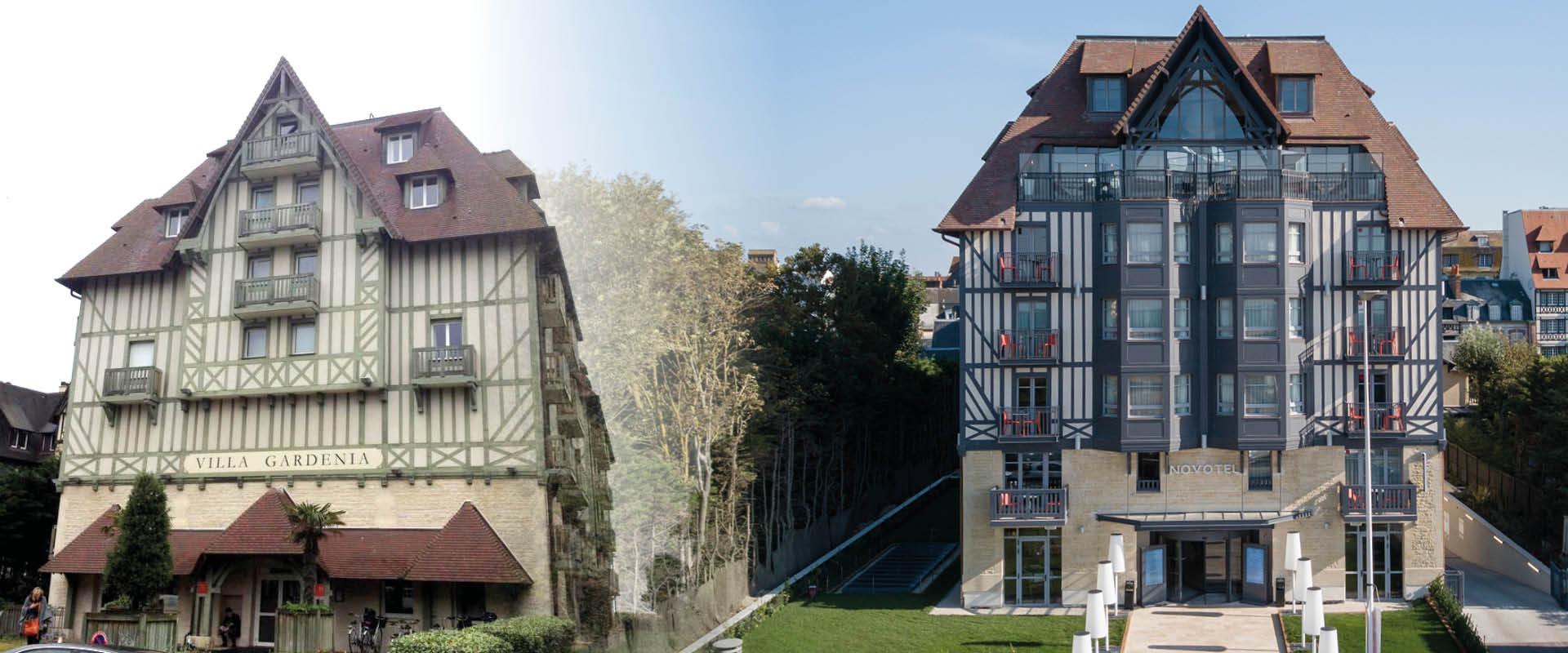 rénovation exterieure hotel