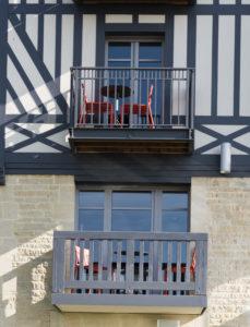 Rénovation HUET hôtel Novotel Deauville Plage