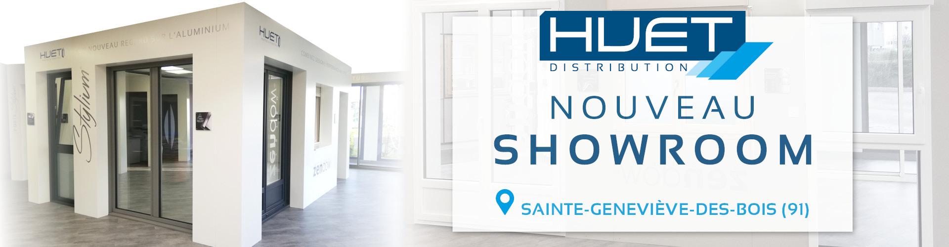 HUET Distribution : nouveau showroom à Sainte-Geneviève-des-Bois